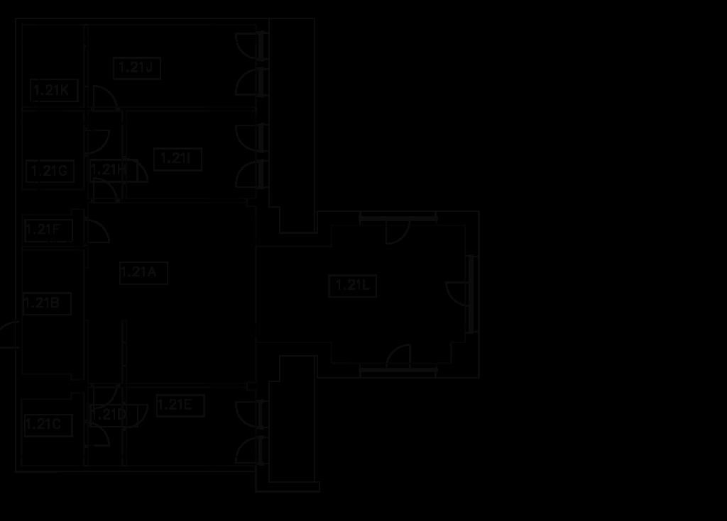 rozkład pomieszczeń