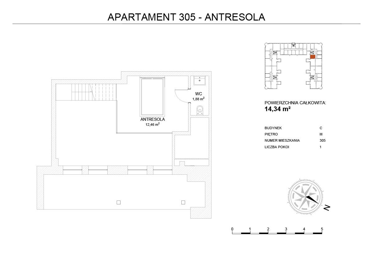 antresola apartament poznań